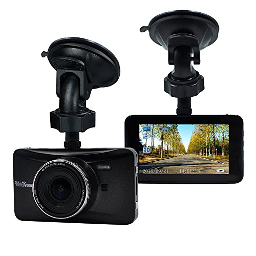 OldShark Full HD Dash Cam, 170 Degree Wide Angle, In Car Camera DVR Digital Driving Video Recorder, with Night Vision, G-Sensor, WDR, Parking Guard, Loop Recording With 32GB SD Card