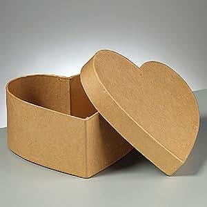 herz dose pappe karton zum basteln und selbstgestalten 5x5x2 5cm garten. Black Bedroom Furniture Sets. Home Design Ideas