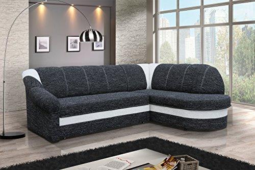 Sofa Couchgarnitur Couch Sofagarnitur BENANO Polstergarnitur Polsterecke Wohnlandschaft mit Schlaffunktion und Bettkasten, Ferderkern inside. (B 02 Berlin...