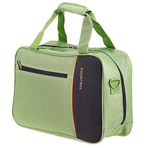 Travelite Portofino Bordcase Sac de cabine 41 cm grün anthrazit orange