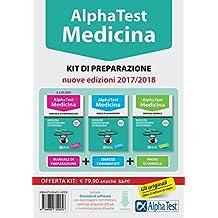 Alpha Test. Medicina, odontoiatria, veterinaria. Kit di