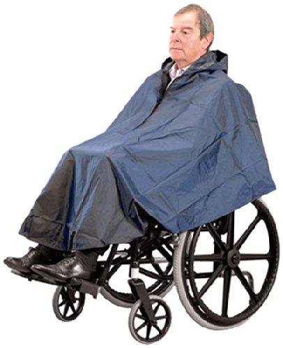 Wasserfester Poncho für den Rollstuhl ()
