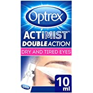 Optrex 2-in-1 ActiMist Dry and Tired Eye Spray, 10 ml
