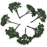 25pcs Landscape Model Flower Trees Scenery Landscape 1:100