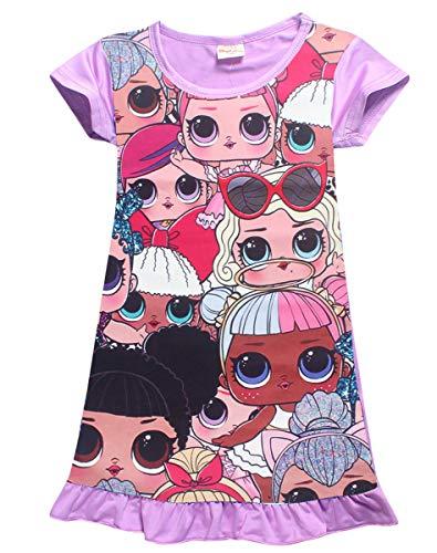 Vannie bambole sorpresa bambine abiti pigiama camicia da notte grembiule gonna da principessa abiti da sera buoni regalo per le ragazze figlia dai 4 ai 10 anni pl 130