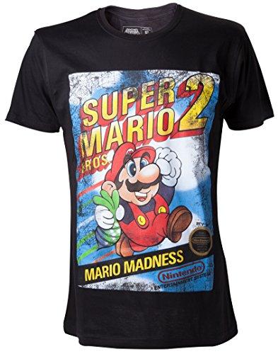 Preisvergleich Produktbild Nintendo T-Shirt Super Mario Bros. 2 Mario Madness Größe XL