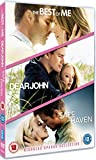 Nicholas Sparks Triple: Dear John/Safe Haven/The Best of Me [DVD] by Channing Tatum