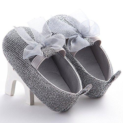 WAYLONGPLUS , Chaussures premiers pas pour bébé (fille) 13(12-18 Months)