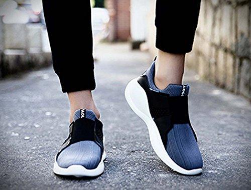 Uomo Sport Walking Scarpe Da Corsa Scarpe Da Ginnastica Leggere Sneakers Traspiranti Scarpe Da Arrampicata Morbide Gray