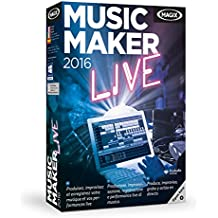 MAGIX Music Maker 2016 Live - Software De Edición De Audio/Música