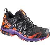 Salomon Damen Xa Pro 3D GTX Ltd W Traillaufschuhe, Schwarz (Black/Nasturtium/Parachute Purple 000), 40 2/3 EU