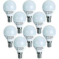 [Sponsorizzato]LED FACTORY 5W E14 400lm Lampadine LED Luce Bianca Calda, Pari a Lampadine Alogena da 50W, 2800K, 270 Gradi Angolo del Fascio, Lampadine a LED, Confezione da 10 Unità