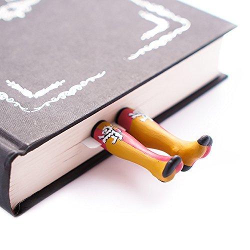 Magic Häuser Socken handgemachtes Lesezeichen. Wunderbares Geschenk für ()