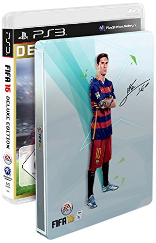 FIFA 16 - Deluxe Edition inkl. Steelbook (exkl. bei Amazon.de) - [PlayStation...