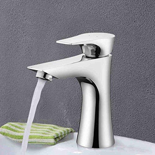 Salle de l'eau du bassin Tap All Copper Basin Hot And Cold Taps Salle de bains Comptoirs Robinet Lavabo