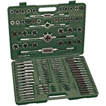 Mannesmann - M53255 - Juego de herramientas para roscar de 110 piezas