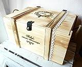 Erinnerungsbox Baby - Babygeschenk personalisiert - Erinnerungsbox mit Gravur - Geburtsgeschenk mit Namen - Holztruhe - Holzkiste