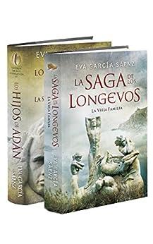 La Vieja Familia + Los Hijos de Adán (Pack 1 y 2): La saga de los longevos 1 y 2 de [Sáenz, Eva García]