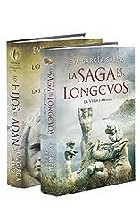 La Vieja Familia + Los Hijos de Adán (Pack 1 y 2): La saga de los longevos 1 y 2 (Spanish Edition)