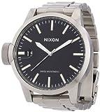 Nixon Herren-Armbanduhr Analog Edelstahl A198000-00