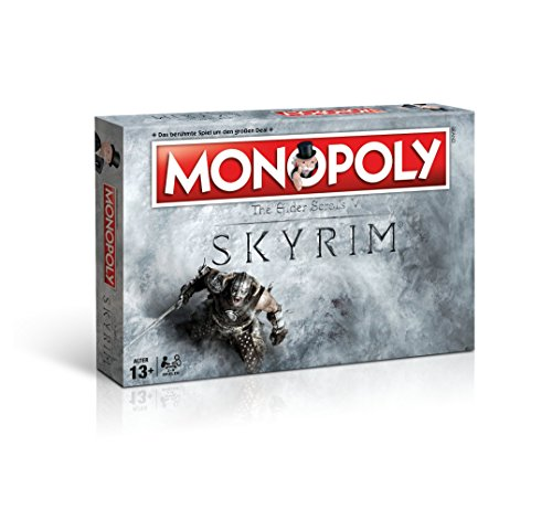fallout 4 monopoly Monopoly Skyrim Edition - das beliebte Gesellschaftsspiel trifft auf die Welt von The Elder Scrolls V: SKYRIM (Deutsch)
