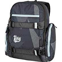 Nitro Snowboards local mochila, Unisex, Rucksack Local Pack, Fragments Black, 17 x 30 x 47 cm