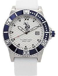 Reloj U.S. Polo Assn. Aspen Hombre Silicona Total White usp4390hw