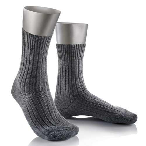 JD Bundeswehr Socke kurz (42/43, Mittelgrau)