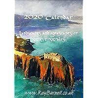 2020 Calendar - Ray Burnell - Artist