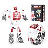Womdee Reloj Robot para Mujer, transforma Robot Reloj Juguetes 2 en 1 Kids Digital Reloj deformación Robot Juguetes creativos educativos Aprendizaje Juguetes para niños
