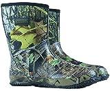 NITE-HAWK Nitehawk - Neopren-Gummistiefel für Jagd & Angeln - Camouflage-Muster - wadenlang - Größe 42