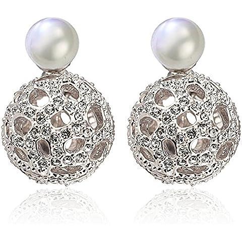 ZWX Giappone-Corea fashion esagerato Stud Earrings/ progetto qualità retrò orecchini di finte perle/[accessori]-B
