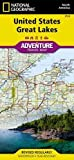 United States, Great Lakes (National Geographic Adventure Travel Map, Band 3124)