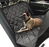 Hundedecke Auto, Topist Hundedecke Auto Rückbank, Super Weich Autoschondecke, Wasserdicht Hunde Autodecke, Rutschfest Hundeschutzdecke mit Hunde Sicherheitsgurt für Auto SUV Minivan - 163x140CM