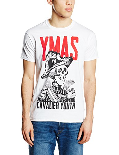 You Me At Six You Me AT Six Cavalier Youth-T-shirt  Uomo    bianco X-Large