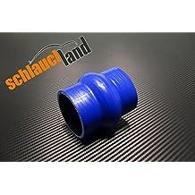 Silikonschlauch 50cm ID 60mm schwarz*** Unterdruckschlauch Vacuum Hose Verbinder LLK