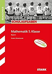 STARK Schulaufgaben Realschule - Mathematik 5. Klasse - Bayern