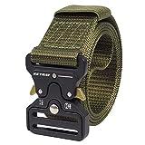 Cinturón táctico de los hombres Estilo militar con nosotros Cinturón de nylon de alta resistencia para el entrenamiento de caza Ejército que se ejecuta
