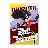 Hallmark 25504912Medium die Power Incredible 2Tochter Geburtstagskarte