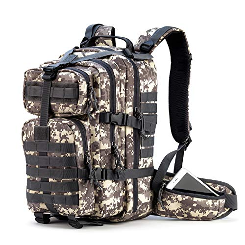 Gelindo Militär-Rucksack, taktischer Rucksack, für Outdoor-Aktivitäten, Wandern, Camping, 35 l -
