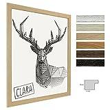 Bilderrahmen Clara 18x24 (Zoll/inch) | ca. 45,7x60,9cm Eiche Natur (mit Struktur)