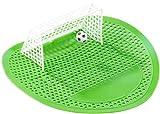 PEARL Urinalsieb: Lustiges Fußball-Urinal-Sieb, 18,5 x 19,5 cm, universell passend (Urinaleinlage)