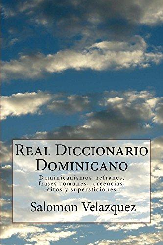 Free Real Diccionario Dominicano Dominicanismos Frases