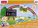 Play and Learn Animals and Their Babies,...