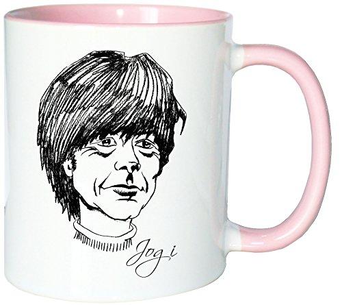 Mister Merchandise Kaffeetasse Becher Joachim Jogi Löw Teetasse, verschiedene Farben
