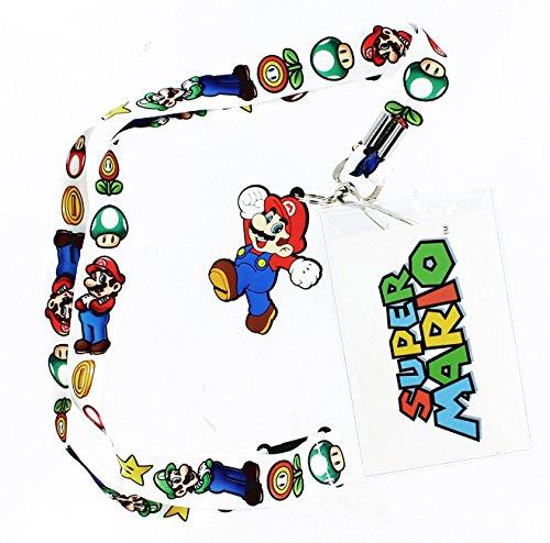 Preisvergleich Produktbild Super Mario Bros. Lanyard with Mario Charm