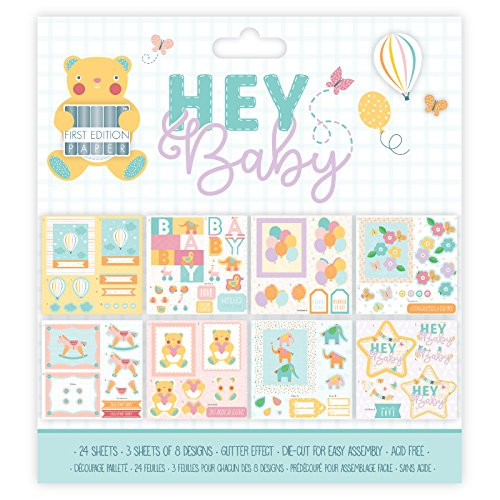 First Edition Hey Baby - Decoupage Pad 8