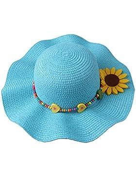 Dantiya Sonnenhut Kinder Mädchen Große Krempe Mit Einer Sonnenblumen Sun Hats For Girls 5 Farben