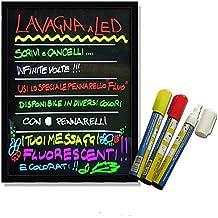 Led Tablero de escritura 80x60cm. letreros de néon illuminado por bar, tienda