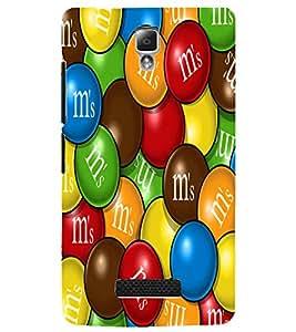 PrintDhaba Coloured Balls D-5561 Back Case Cover for LENOVO A2010 (Multi-Coloured)